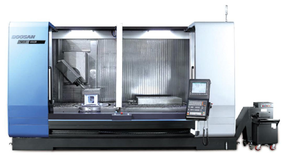 Doosan machine by aerotech precision limited