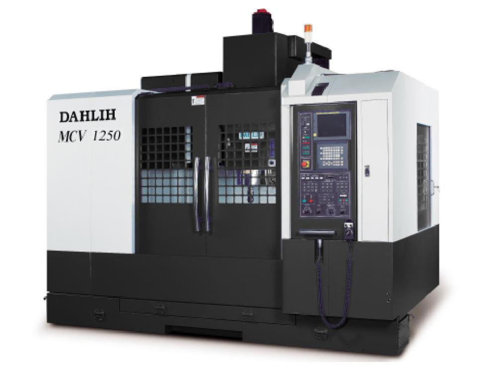 Dahlih MCV 1250 hard metal machine