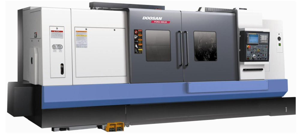 Doosan Puma Lathe machine by aerotech precision limited